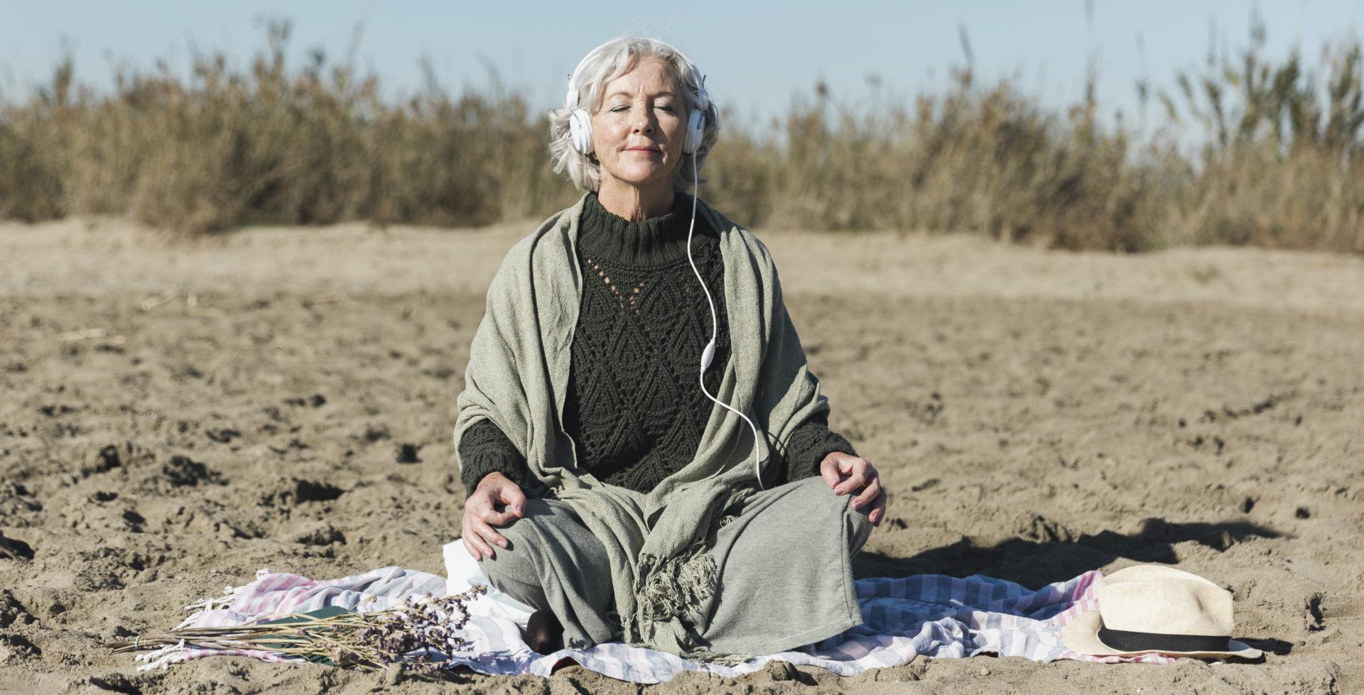 Image article MBSR Lyon La Silver Santé Study : La méditation ralentit-elle le vieillissement du cerveau ?